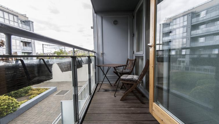 Balcony at Gasworks Serviced Apartment - Citybase Apartments