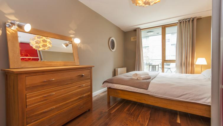 Bedroom at Gasworks Serviced Apartment - Citybase Apartments