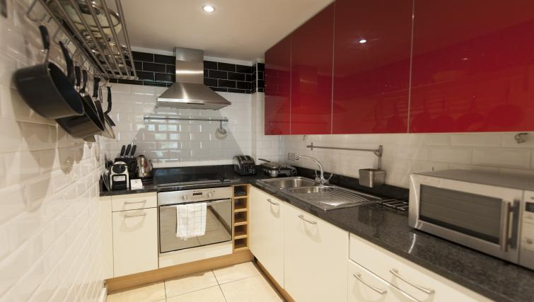 Kitchen at Gasworks Serviced Apartment - Citybase Apartments