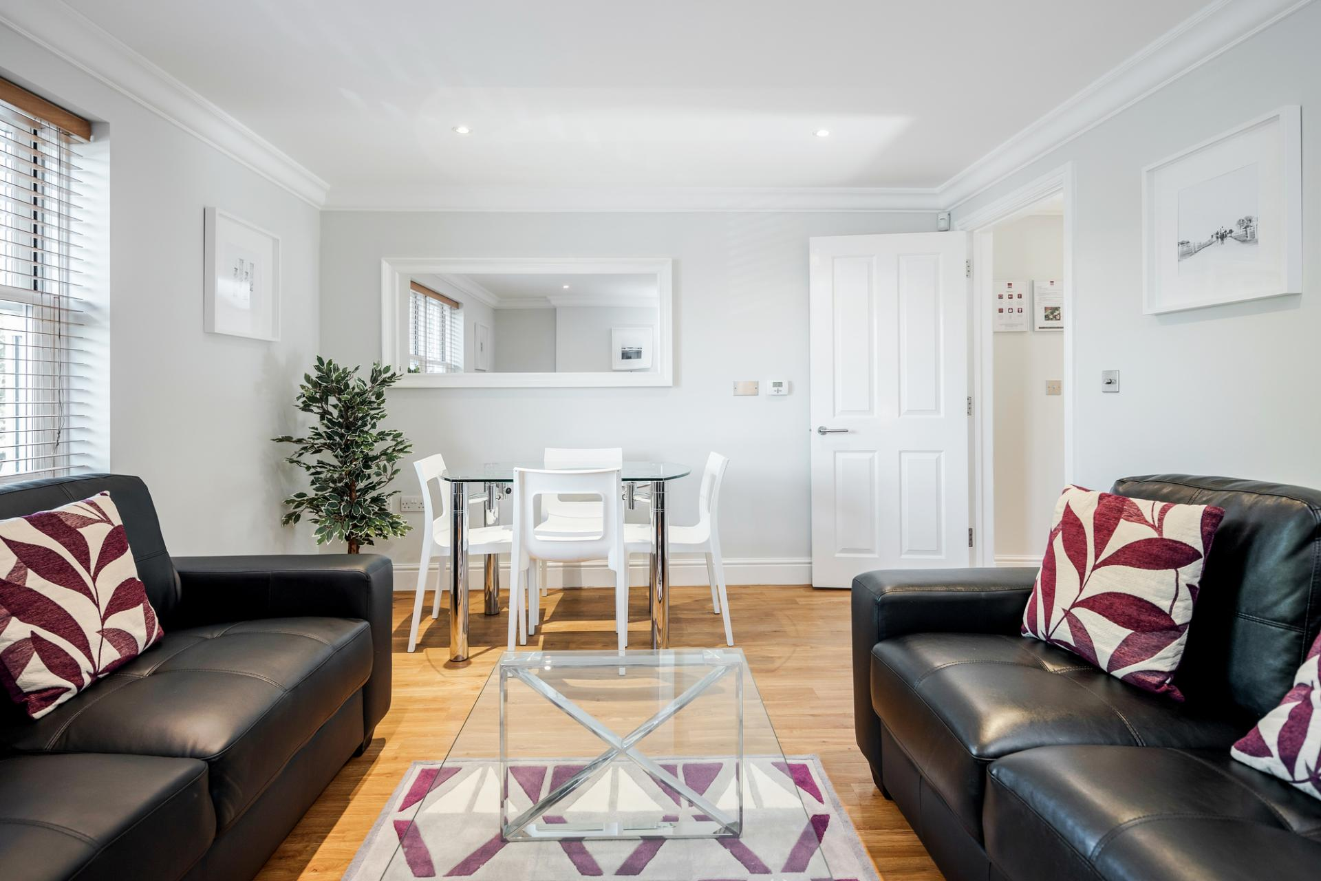 Dining area at Little Orchard Place Apartments, Centre, Esher - Citybase Apartments