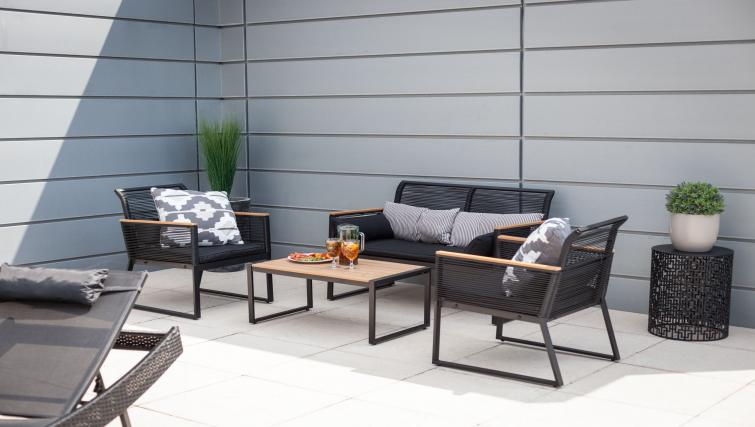 Outdoor area at KSpace @ The Point Apartments - Citybase Apartments