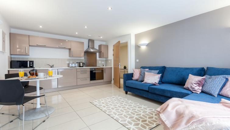 Open-plan kitchen - Citybase Apartments