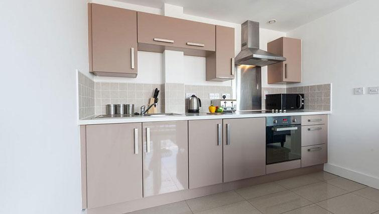 Kitchen at KSpace @ The Point Apartments - Citybase Apartments