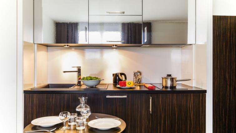 Kitchen at Hipark by Adagio Val D Europe - Citybase Apartments