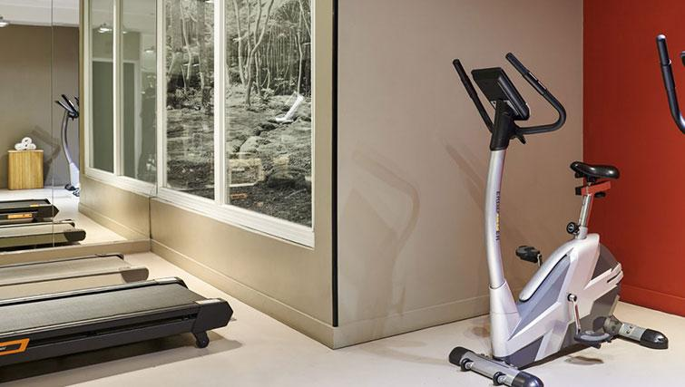 Gym at Hipark by Adagio Val D Europe - Citybase Apartments