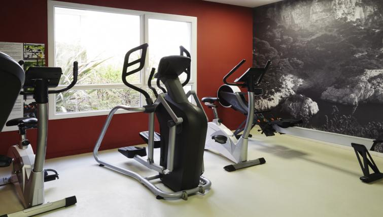 Gym at the Hipark by Adagio Marseille - Citybase Apartments