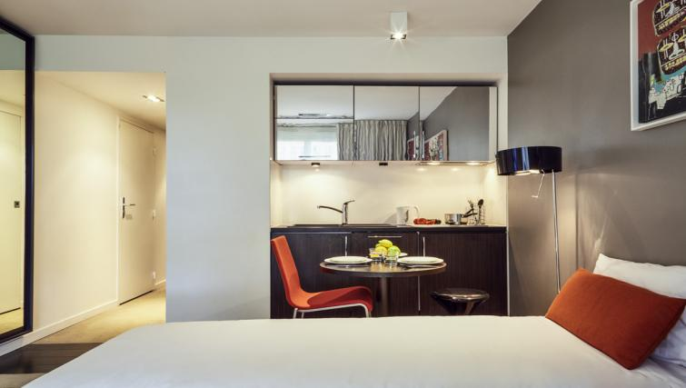 Kitchen at the Hipark by Adagio Marseille - Citybase Apartments