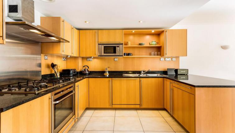 Kitchen at Benham House Apartment - Citybase Apartments
