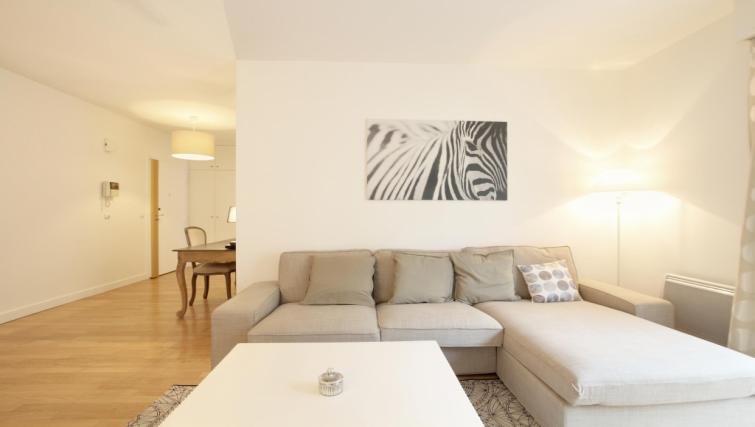 Furnishings at the Leonard de Vinci Apartment - Citybase Apartments