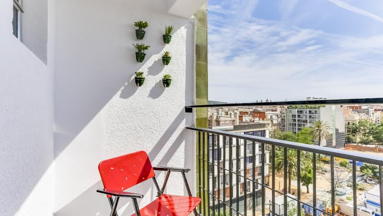 Balcony at Eixample Borrell Apartment - Citybase Apartments