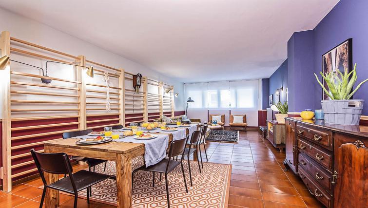 Living room at Bailen Apartment - Citybase Apartments