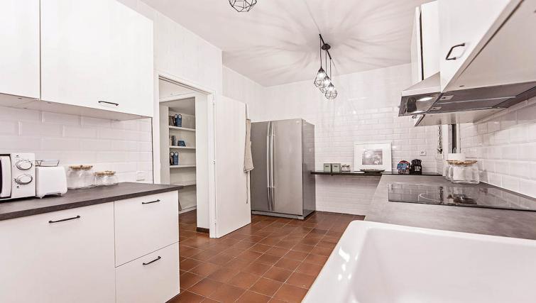Kitchen at Bailen Apartment - Citybase Apartments