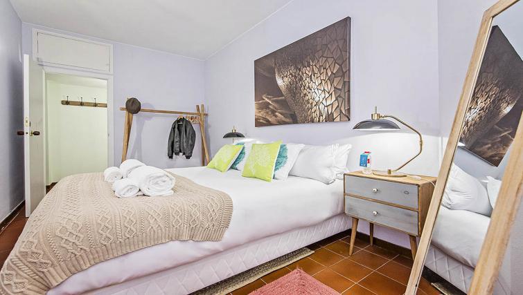 Modern bedroom at Bailen Apartment - Citybase Apartments