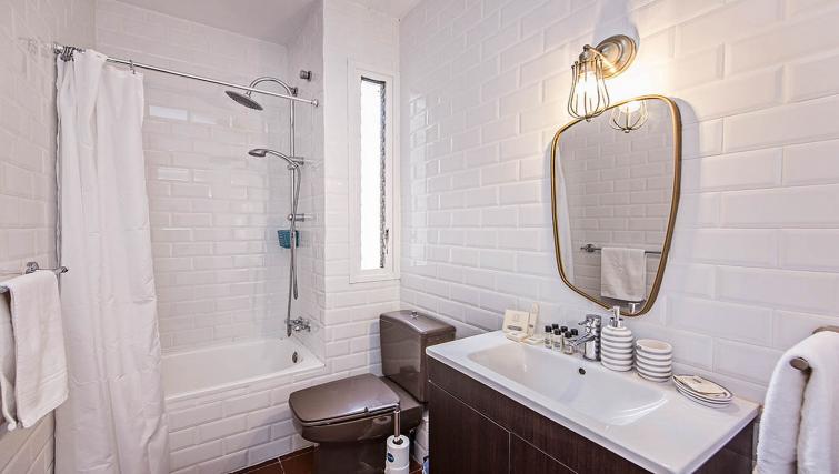 Bathroom at Bailen Apartment - Citybase Apartments