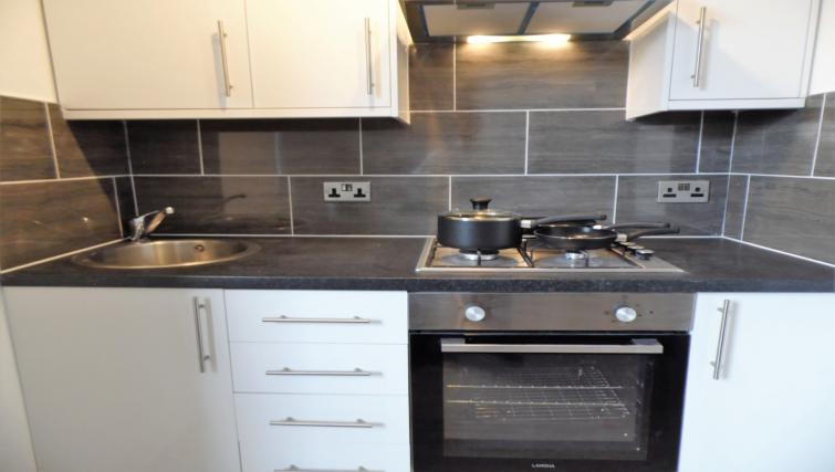Kitchen at Langlands House - Citybase Apartments