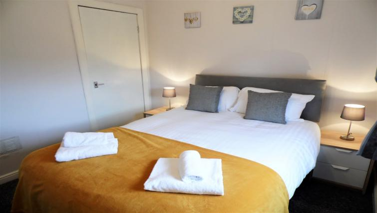 Bedroom at Calder House - Citybase Apartments