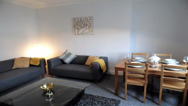 Sofa at Calder House - Citybase Apartments