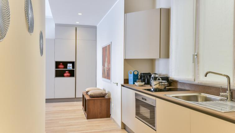 Kitchen at Duomo Apartments - Citybase Apartments