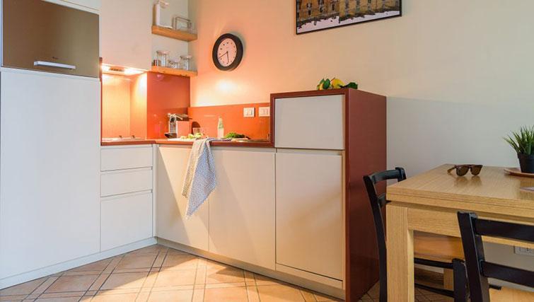 Kitchen at Residenza Ascanio Sforza - Citybase Apartments