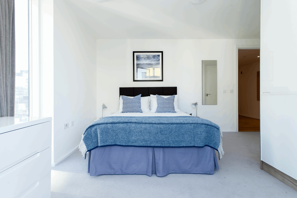 Bedroom at Clover Court Apartments - Citybase Apartments