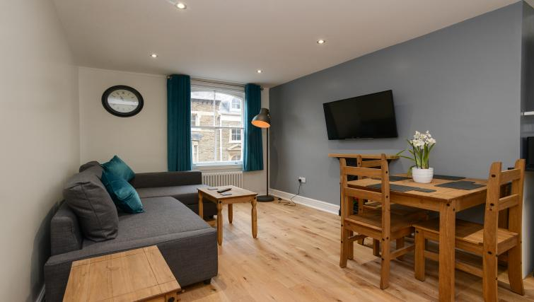 TV at Market Street Serviced Apartments - Citybase Apartments