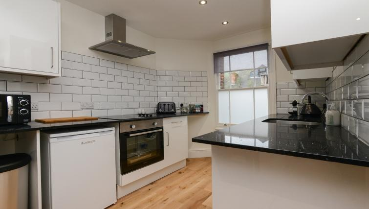 Kitchen at Market Street Serviced Apartments - Citybase Apartments