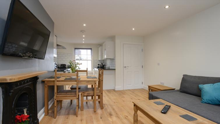 Dining table at Market Street Serviced Apartments - Citybase Apartments
