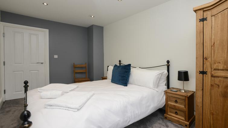 Bedroom at Market Street Serviced Apartments - Citybase Apartments