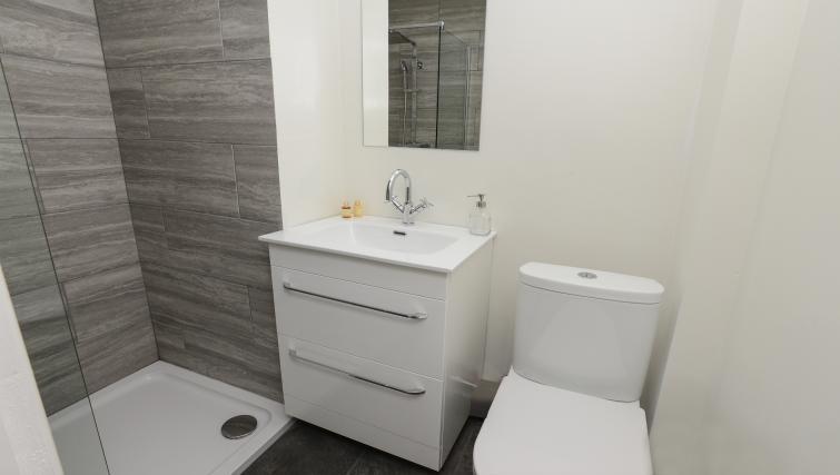 Bathroom at Market Street Serviced Apartments - Citybase Apartments