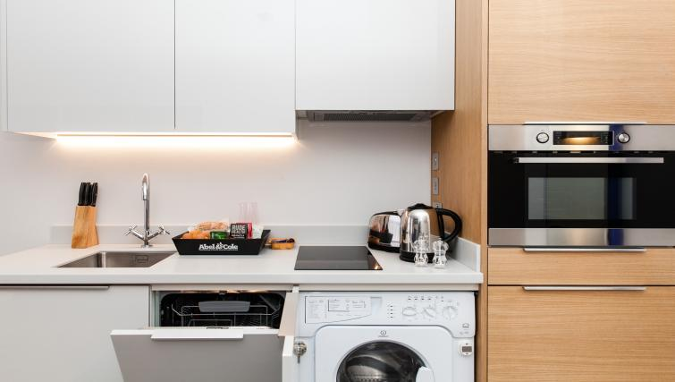 Kitchen at Rockwell East Apartments - Citybase Apartments