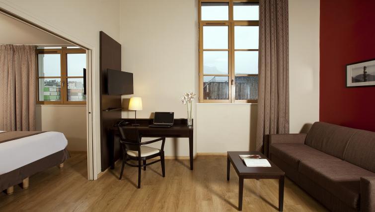 Living room at Residhome Caserne De Bonne - Citybase Apartments