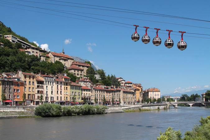 Local town at Residhome Caserne De Bonne - Citybase Apartments