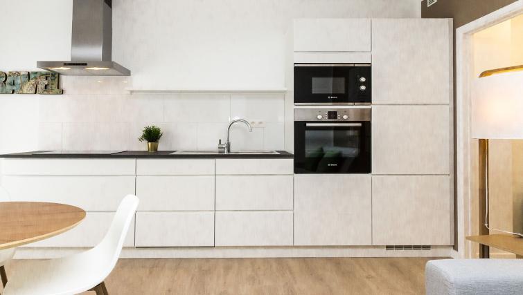 Kitchen at Avenue Michel Apartments - Citybase Apartments