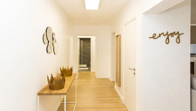 Hallway at Avenue Michel Apartments - Citybase Apartments