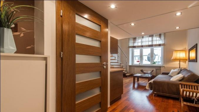 Living area at Hoza Apartment - Citybase Apartments