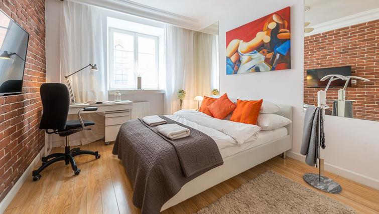 Bedroom at Swietojanska Aparmtent - Citybase Apartments
