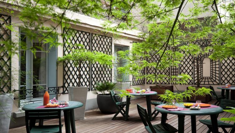Garden at Adagio Access Paris Philippe Auguste - Citybase Apartments