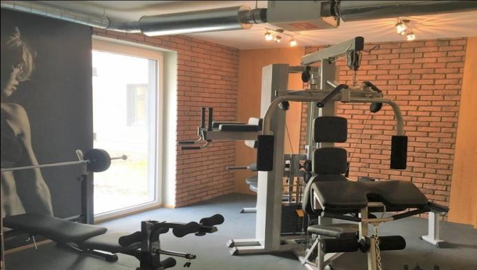 Gym at Konstruktorska Apartment - Citybase Apartments