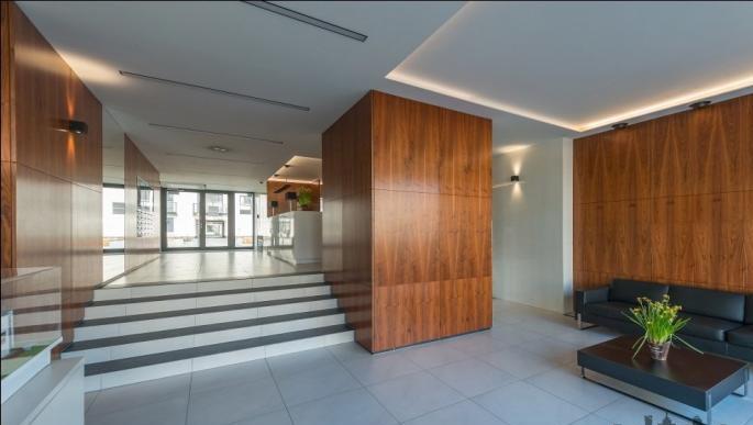 Lobby at Konstruktorska Apartment - Citybase Apartments