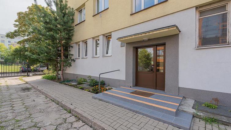 Exterior at Pulawska Apartment - Citybase Apartments