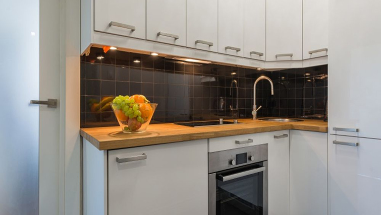 Kitchen at Anderesa 2 Serviced Apartment - Citybase Apartments