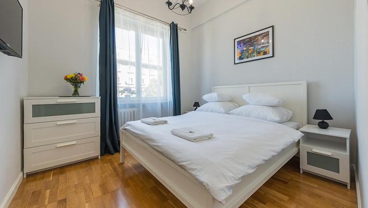 Bed at Anderesa 2 Serviced Apartment - Citybase Apartments