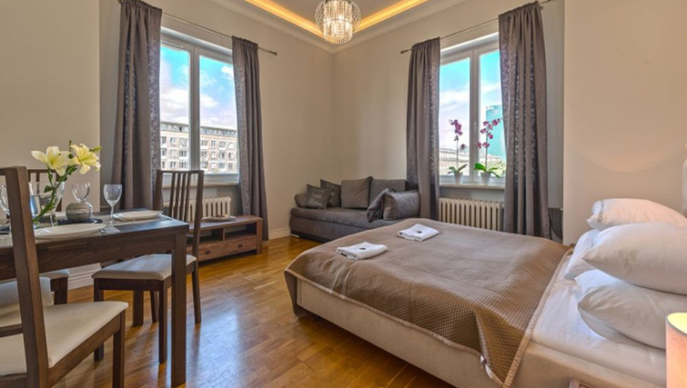 Double bedroom at Anderesa 2 Serviced Apartment - Citybase Apartments