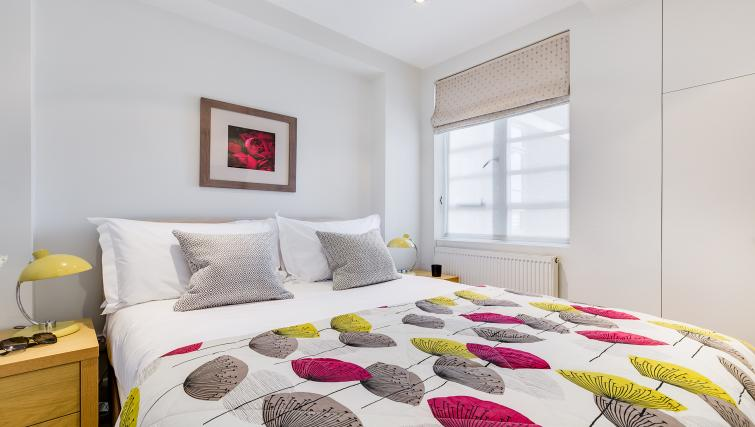 Bedroom at Nell Gwynn Chelsea Accommodation - Citybase Apartments