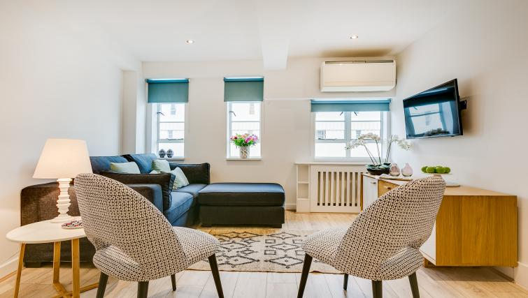 Modern living area at Nell Gwynn Chelsea Accommodation - Citybase Apartments