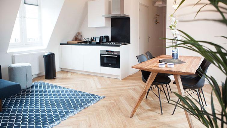 Kitchen at The Duke Apartments - Citybase Apartments