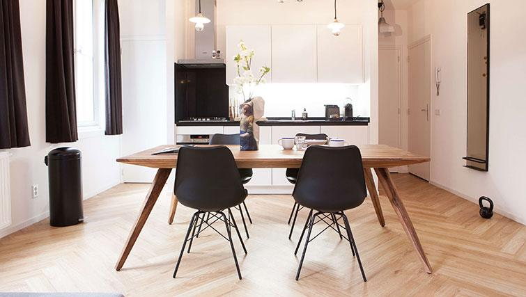 Dining table at The Duke Apartments - Citybase Apartments