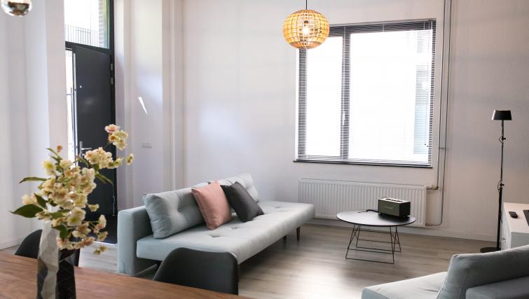 Living space at The Duke Apartments - Citybase Apartments
