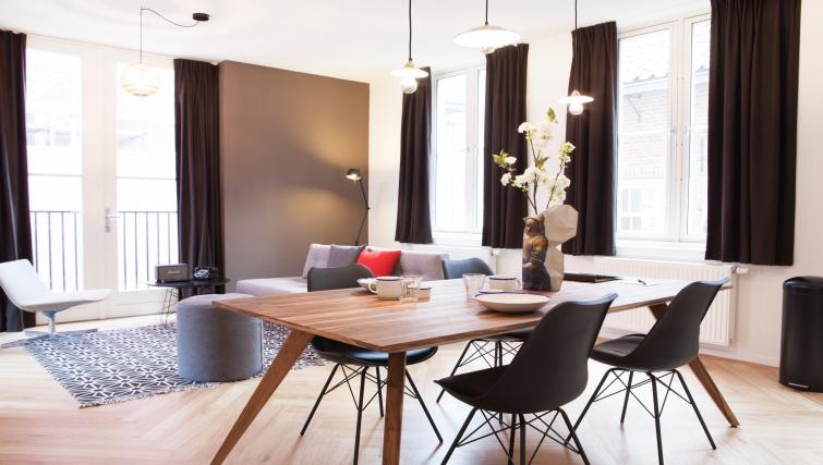 Dining area at The Duke Apartments - Citybase Apartments