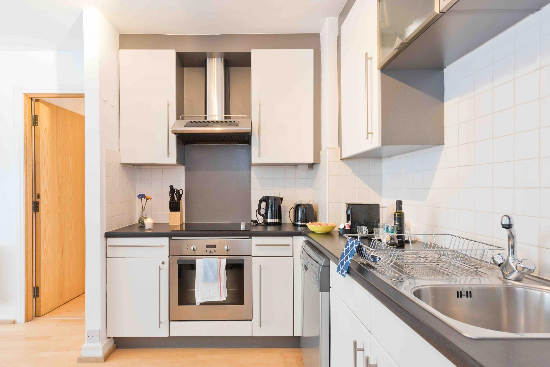 Oven at Sauls Court Apartments - Citybase Apartments
